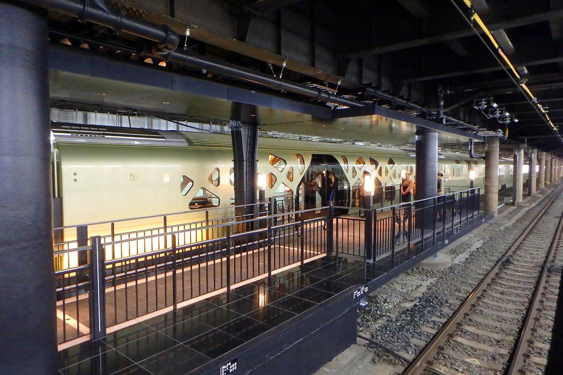 東北線上野駅構内クルーズトレイン(豪華列車)導入に伴うホーム改良 ...